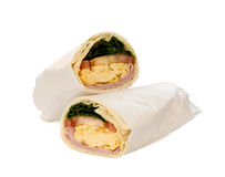 Breakfast Wrap Stock Photo