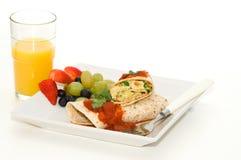 Breakfast Wrap Stock Photo