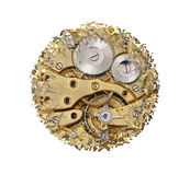 Breaking apart clockwork mechanism Royalty Free Stock Photography