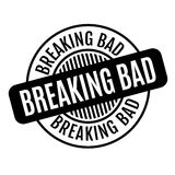 Breaking Bad rubber stamp Royalty Free Stock Image