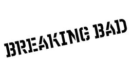 Breaking Bad rubber stamp Royalty Free Stock Photos