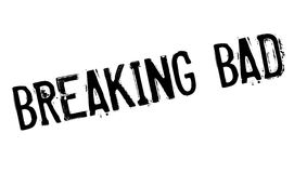 Breaking Bad rubber stamp Royalty Free Stock Images