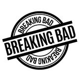 Breaking Bad rubber stamp Royalty Free Stock Photo