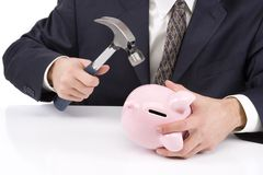 Breaking the Bank Stock Photos