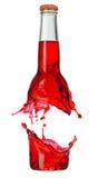 Breaking bottle