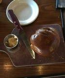 Breaking bread Royalty Free Stock Photos