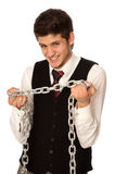 Breaking the chain Stock Photography