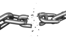 Free Breaking Chains Royalty Free Stock Photography - 175805957