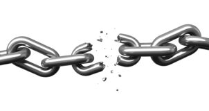 Free Breaking Chains Stock Image - 175806251