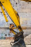 New Construction 1423. Breaking ground and creating new possibilities for work and employment royalty free stock image