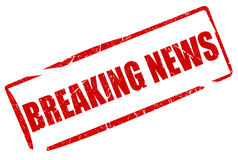Breaking news stock illustration