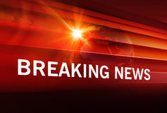 Breaking News background Concept Series 113 Royalty Free Stock Image