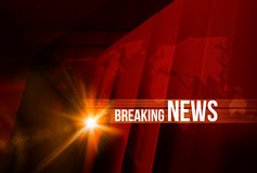 Breaking News background Concept Series Royalty Free Stock Images