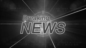 Breaking News background generic stock footage