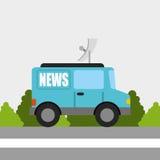 Breaking news Stock Image