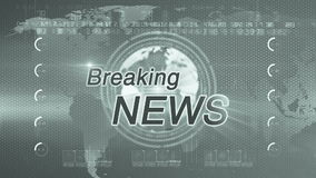 Breaking news_generic  diffrent GREEN stock footage