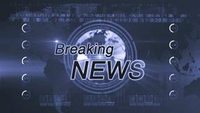 Breaking news_generic stock video