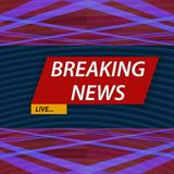 Breaking news. Vector illustration Royalty Free Stock Images