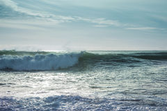 Breaking ocean waves Stock Photography