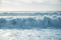Breaking ocean waves Stock Images