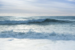 Breaking ocean waves Royalty Free Stock Photography