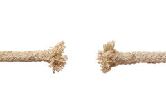Breaking rope Royalty Free Stock Images