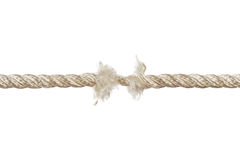 Breaking rope Royalty Free Stock Photos