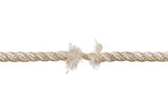 Breaking rope Royalty Free Stock Photos