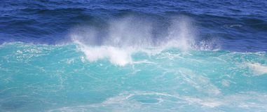 Surge sea wave Royalty Free Stock Photos