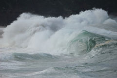 Breaking Wave Waimea Bay Stock Photography