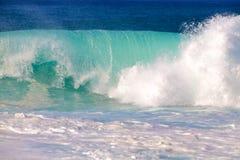 Breaking waves Stock Photo