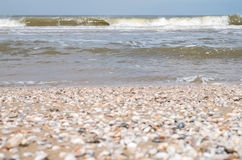 Breaking waves Stock Photography