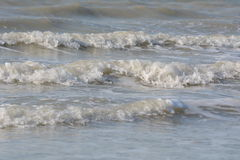 Breaking waves Royalty Free Stock Photography