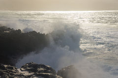 Breaking waves Stock Image