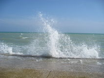 Breaking waves Royalty Free Stock Images