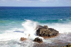 Breaking Waves Stock Images