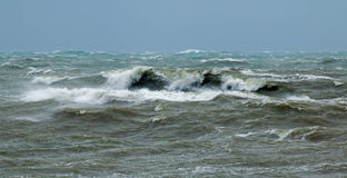 Breaking Waves Royalty Free Stock Image