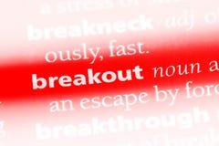 breakout Foto de Stock Royalty Free