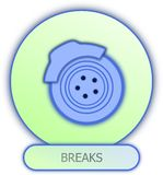 Breaks symbol and icon Stock Photo