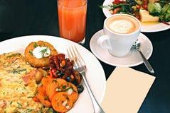 breaksfast совершенное Стоковое Изображение