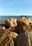 Breakwater. Royalty Free Stock Photos