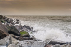 Breakwater Royalty Free Stock Photography