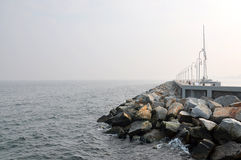 Free Breakwater Royalty Free Stock Photography - 39523017