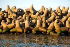 breakwater Fotografia de Stock