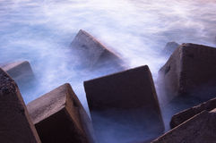 Breakwater Royalty Free Stock Photography