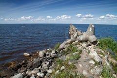 breakwater Imagem de Stock Royalty Free