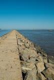 breakwater Fotografia de Stock Royalty Free