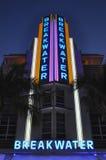 Breakwater Art Deco Royalty Free Stock Image