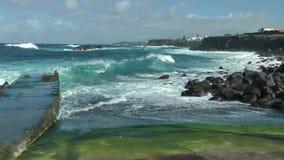 Breakwater stock footage