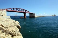 Breakwater Bridge Stock Photo